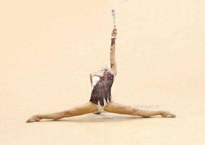 Delphine Ledoux / Calais GR - France Individuel GR - jupette LILI Style Jeux olympiques London 2012