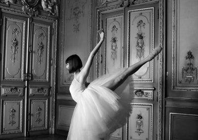 Marguerite Bouvier dans un tutu Lili Style - crédit photo : Mario Sinistaj
